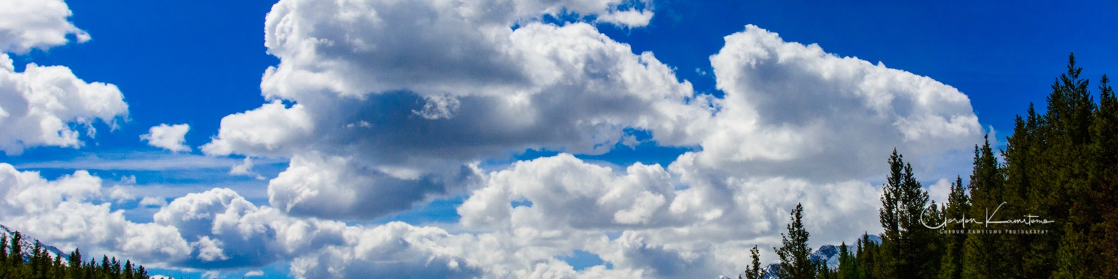 Linkedin Banner Clouds